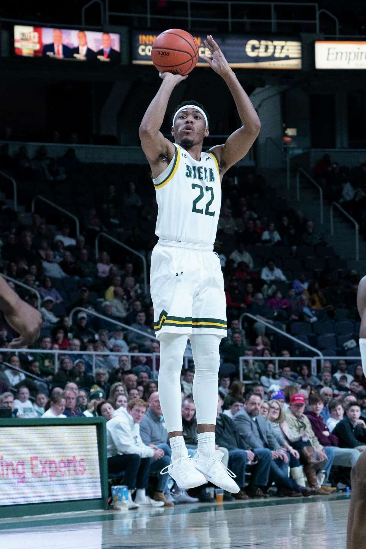 Siena guard Jalen Pickett may not be back for games against Rider on Friday and Saturday. He will rest his injured hamstring on Friday to see if he can play, Siena coach Carmen Maciariello said.