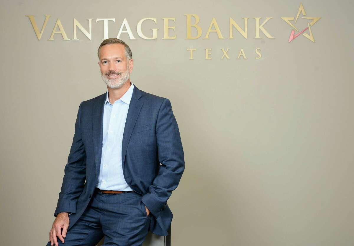 Jeff Sinnott took over as CEO and president of Vantage Bank Texas in March, just as the coronavirus was taking hold.