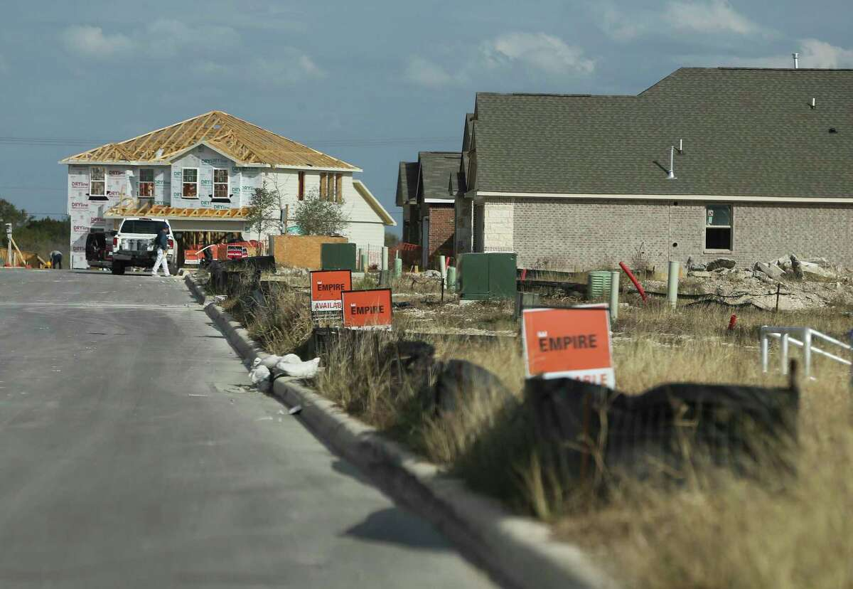 Kallison Ranch and Falcon Landing are two communities on the far West Side with houses in various stages of construction.