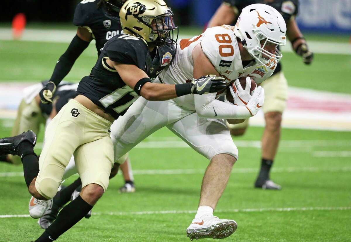 Cade Brewer's decision to return for a final season will give new Texas coach Steve Sarkisian an experienced tight end to lead the position group.