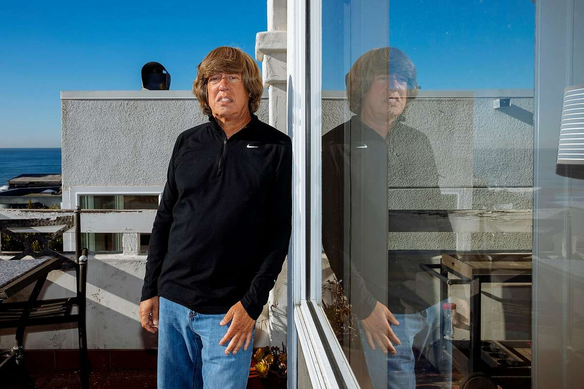 Mickey Morabito poses for a portrait near his home in Manhattan Beach, California December 29, 2020.