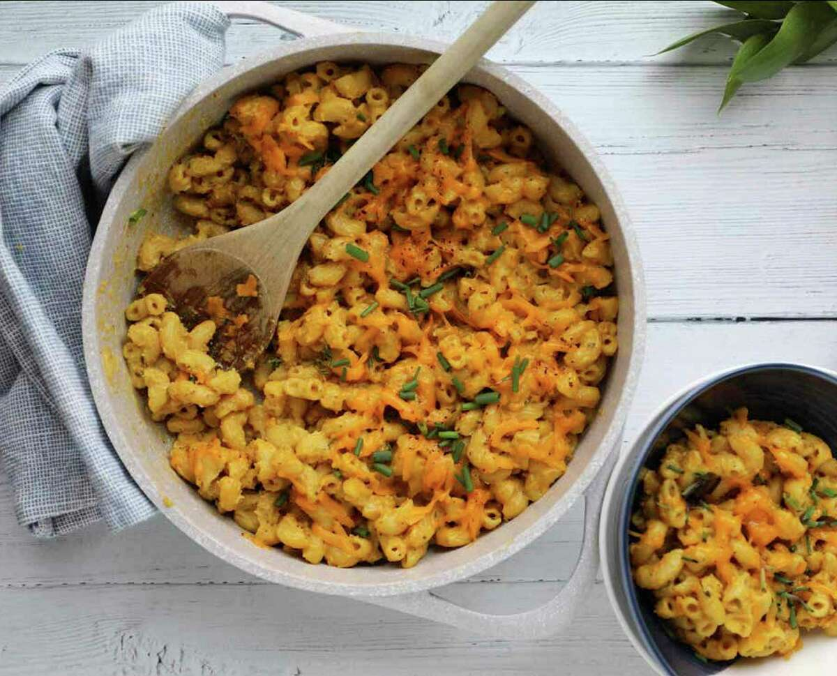 """Straight Fire Mac and Cheese from """"Living Lively"""" by Haile Thomas (William Morrow, $24.99)"""