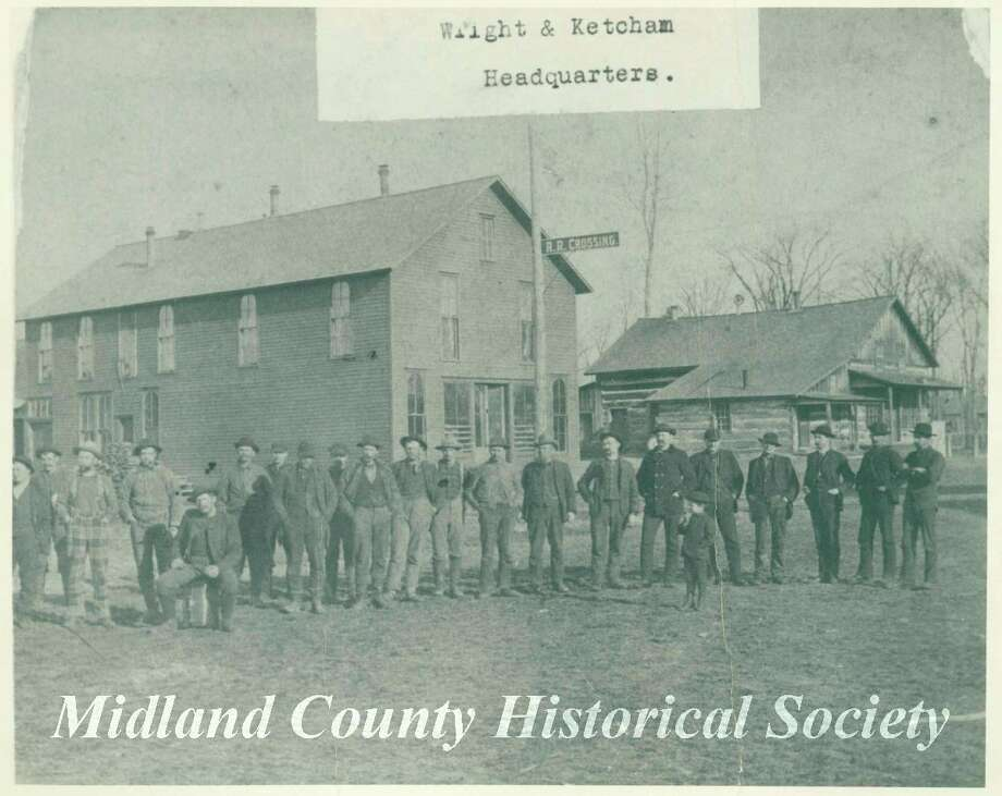 Wright and Ketcham headquarters in Lincoln Township. (Photo provided/Midland County Historical Society)