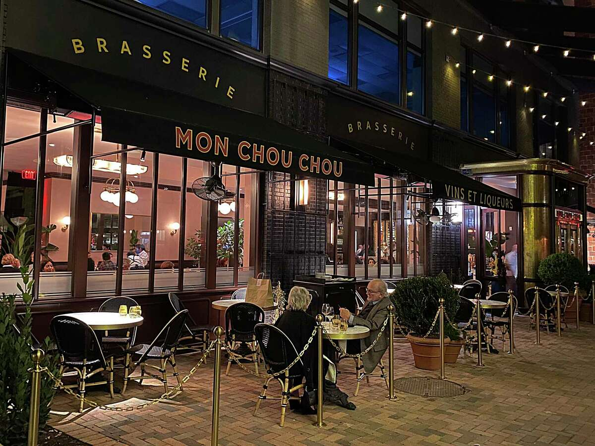 The French restaurant Brasserie Mon Chou Chou opened in December at the Pearl.