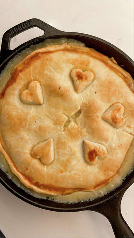 Using leftover ham or turkey from holiday celebrations, pot pies can be a practical option for dinner this week.