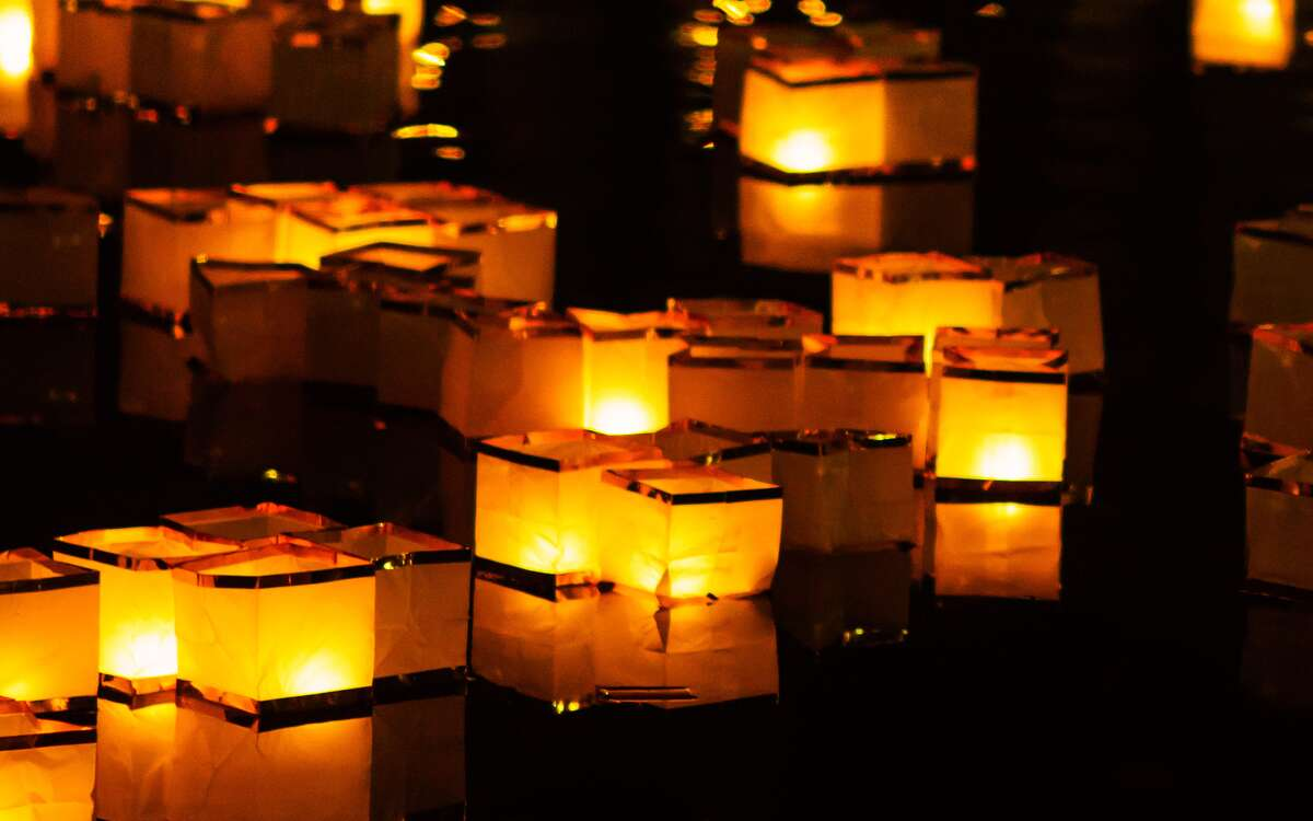 The San Antonio Botanical Garden is inviting guests to join its Japanese-inspired water lantern event this Saturday.