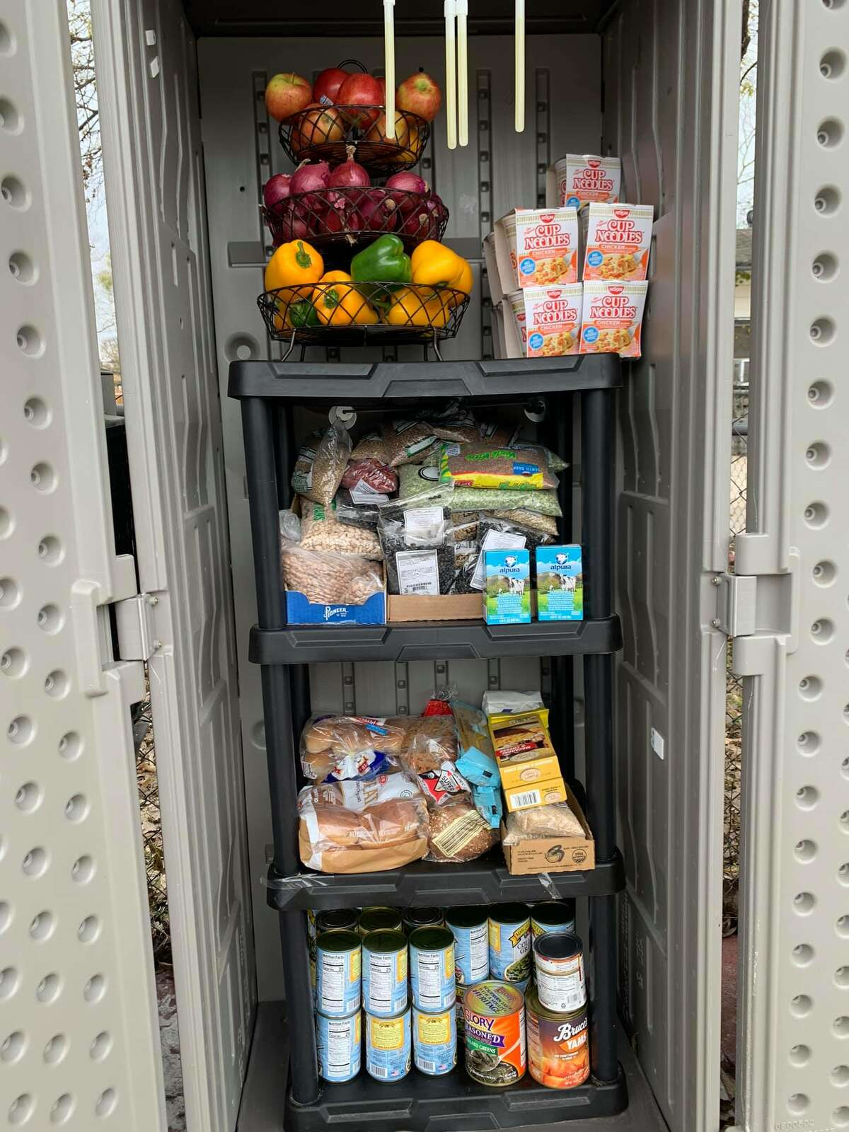 A local created a GoFundMe page to help restock and repair the damages left to a recently launched free South Side pantry.