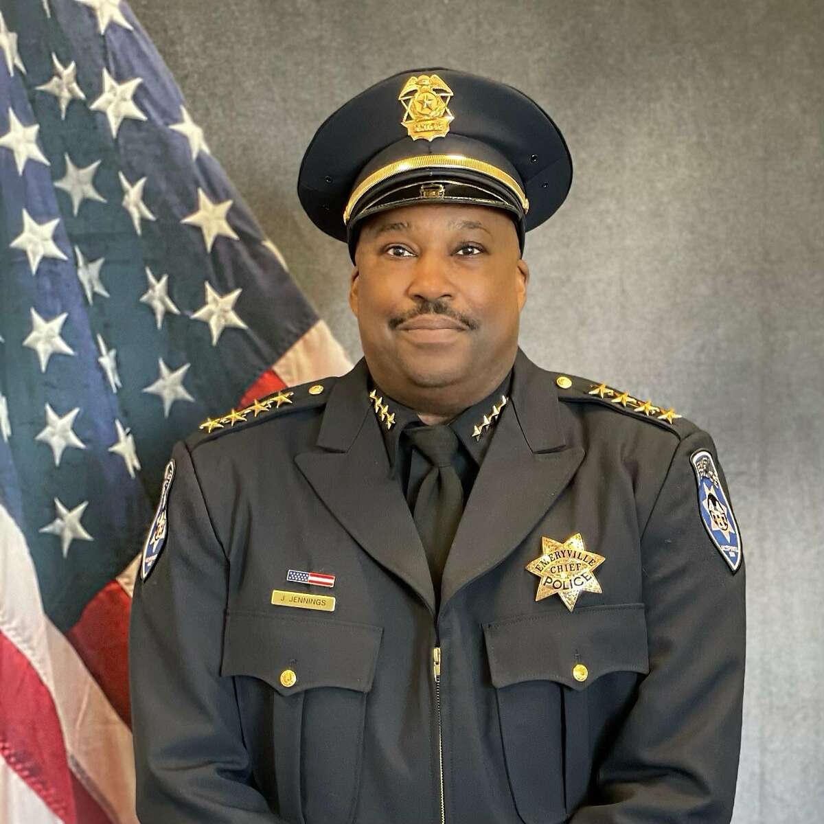 Jeffrey Jennings, a former BART deputy chief, was sworn in this week as Emeryville's newest police chief.