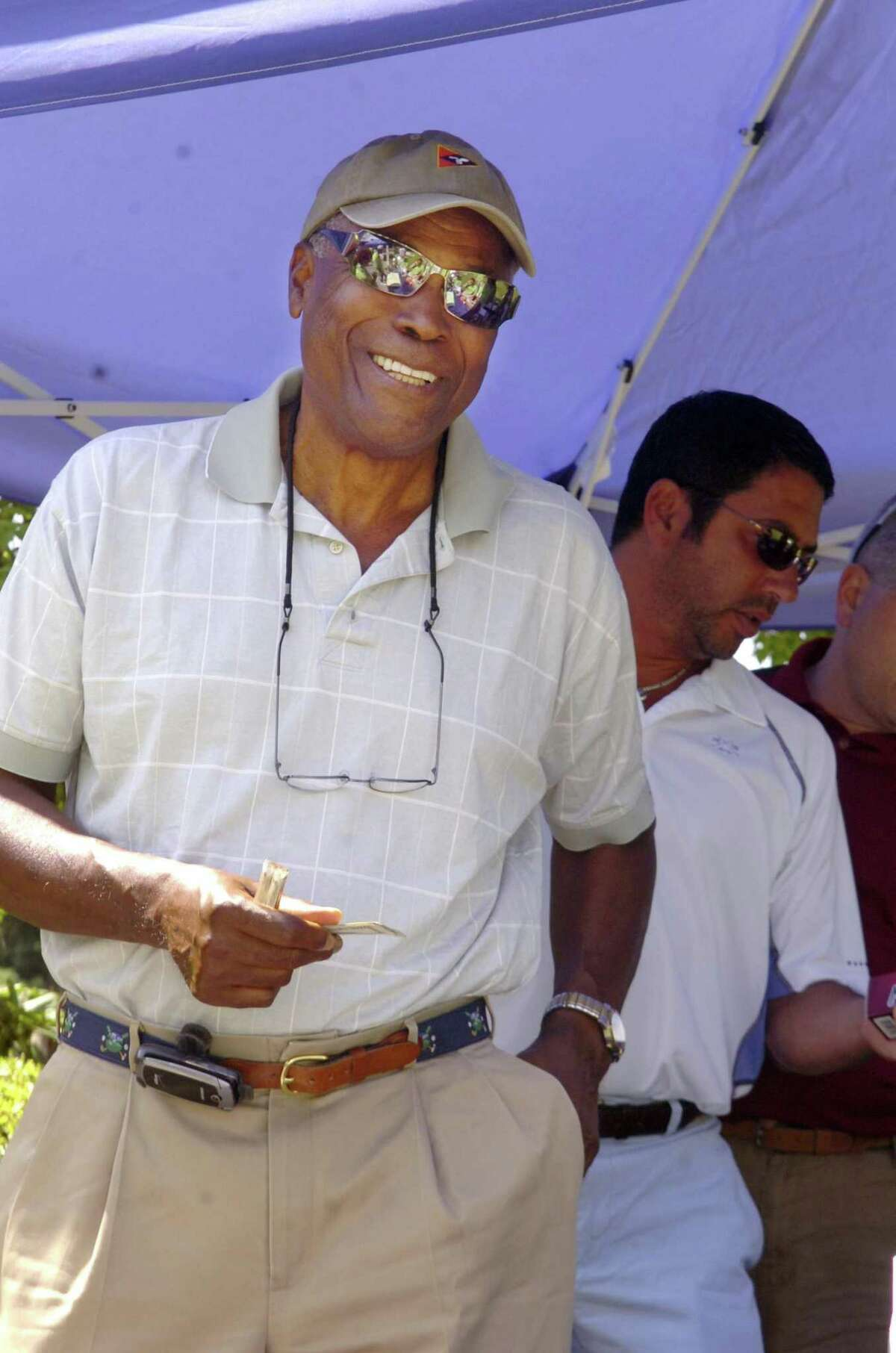 Hall of Famer K.C. Jones at a charity golf event in 2009.