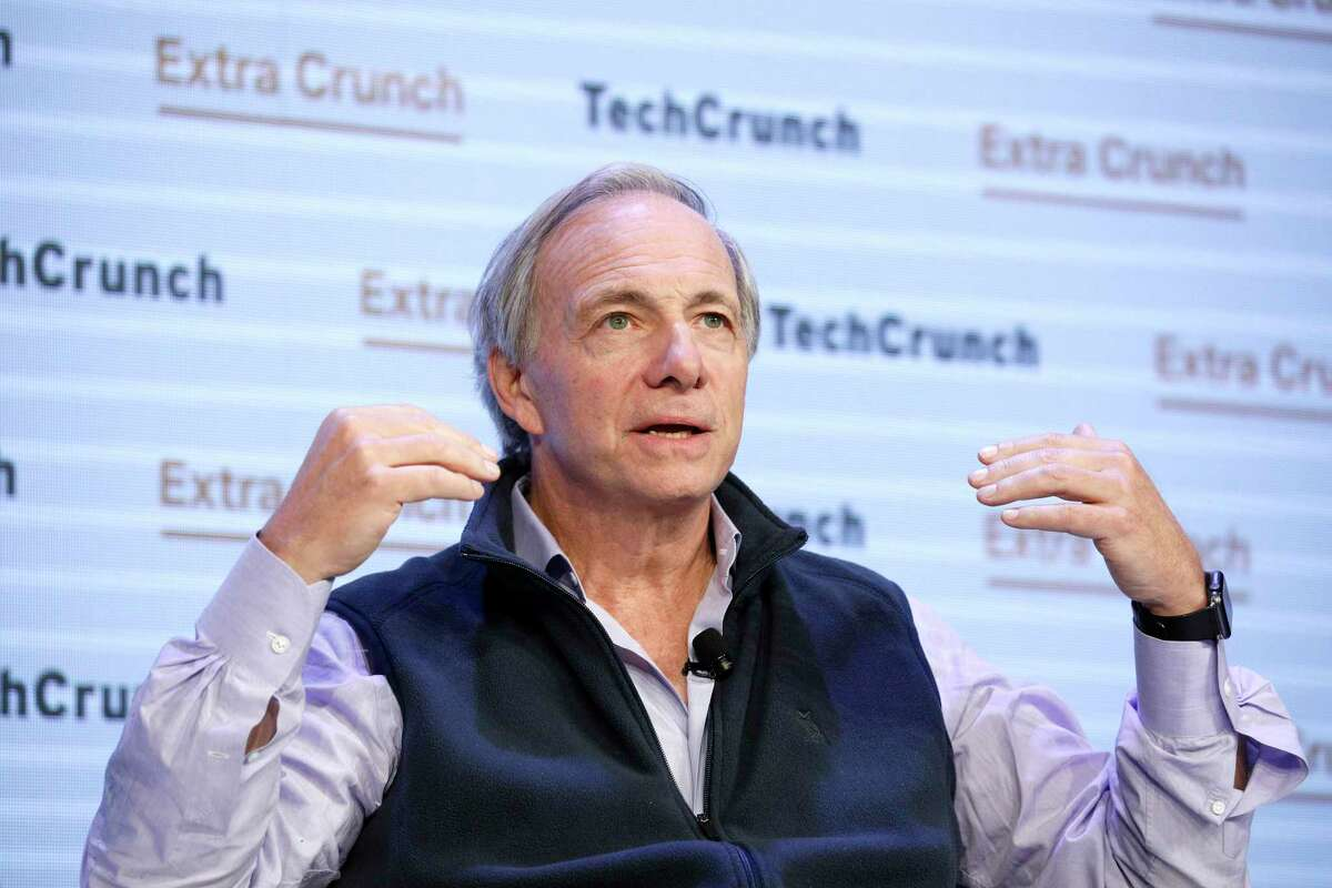 Ray Dalio speaks onstage during TechCrunch Disrupt San Francisco 2019 on Oct. 02, 2019.