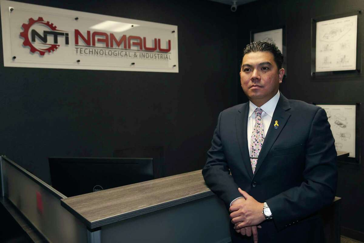 Kekai Namauu is founder of Dynamic Advancement,which provides training and certifications, and Namauu Technological and Industrial, a government contracting firm.