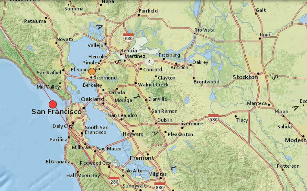 Two earthquakes struck the Bay Area on Thursday, Dec. 31, 2020.
