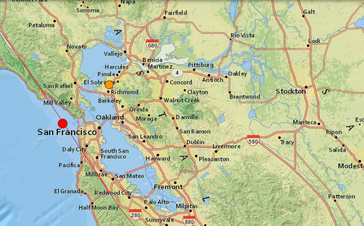 Bay Area Hit With 2 Earthquakes Thursday Morning