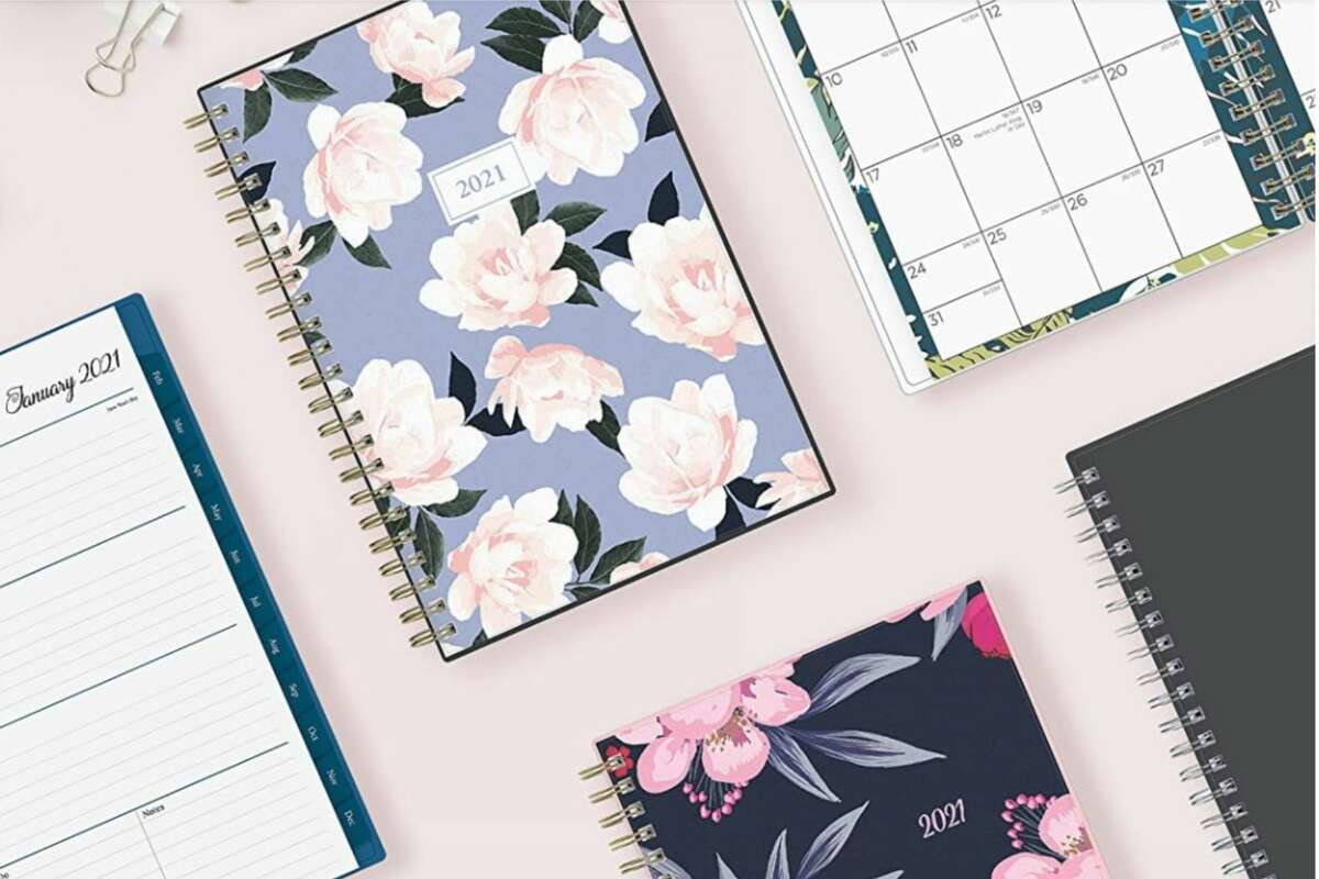 Start your new year with an affordable 2021 planner from Amazon.