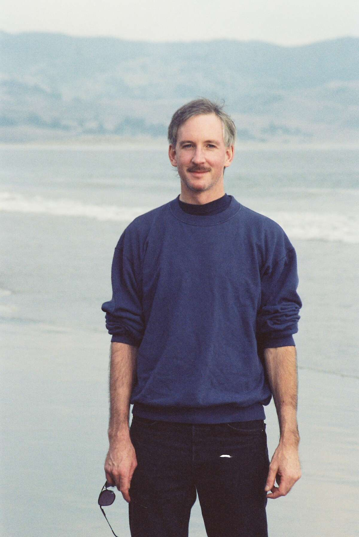 David Lull, during an outing to the beach with his sister, Summer, in 1991.