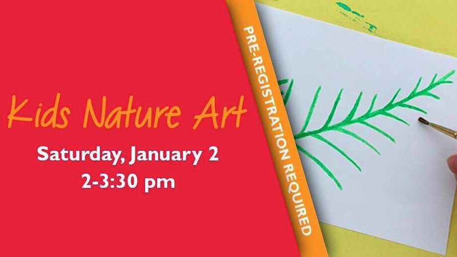 Saturday, Jan. 2: Kids Nature Art: Winter: Drop in with Chippewa Nature Center staff at The Woods Nature Play area for a blast of winter art. Stations with different projects will be set up throughout the play area to allow your artist to experience art through winter and winter through art. (Photo/Chippewa Nature Center Facebook)