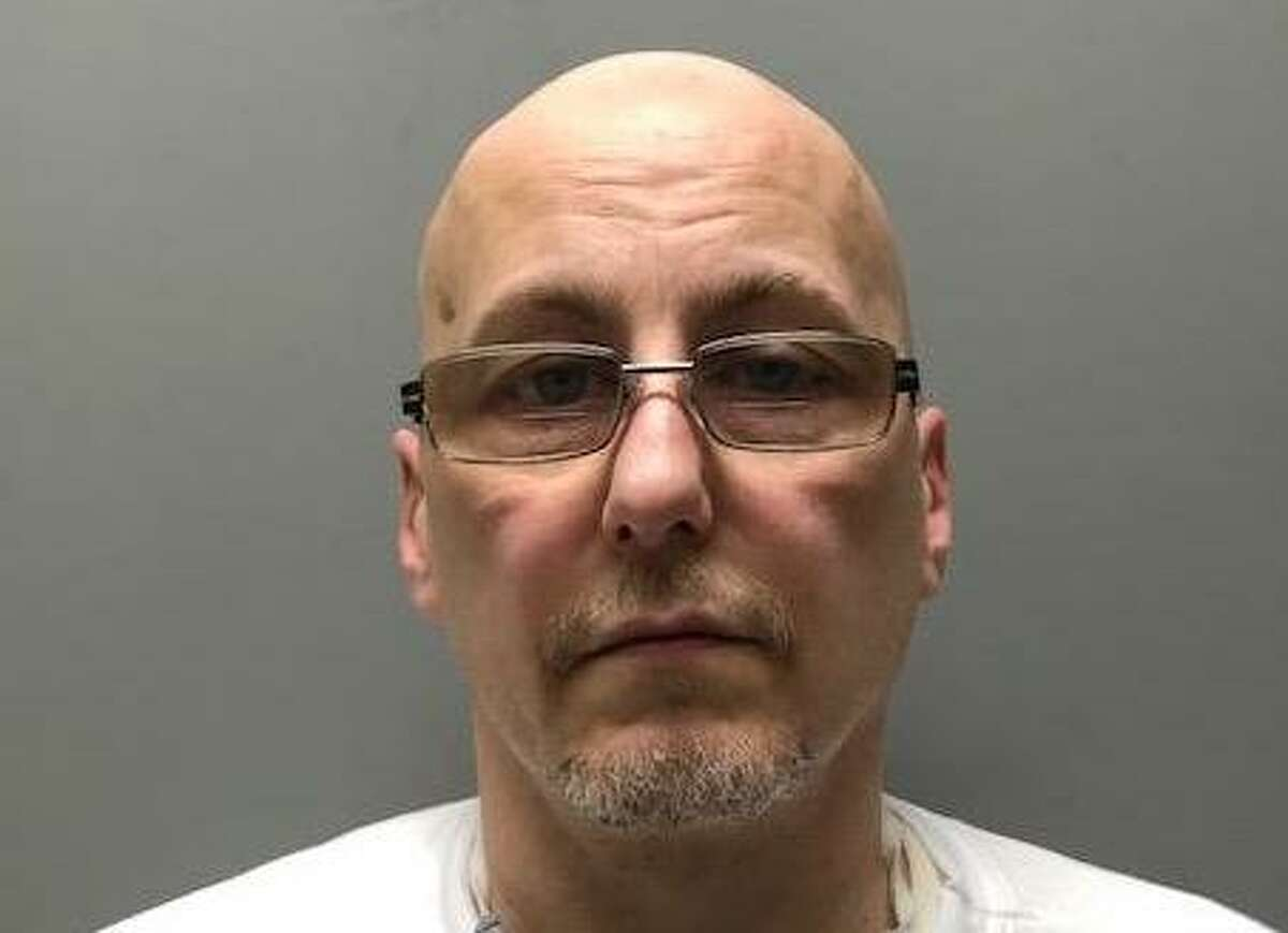 Daniel Oler, 49, of Stamford, was charged with breaking into three businesses on Stamford's West Side in April 2020.