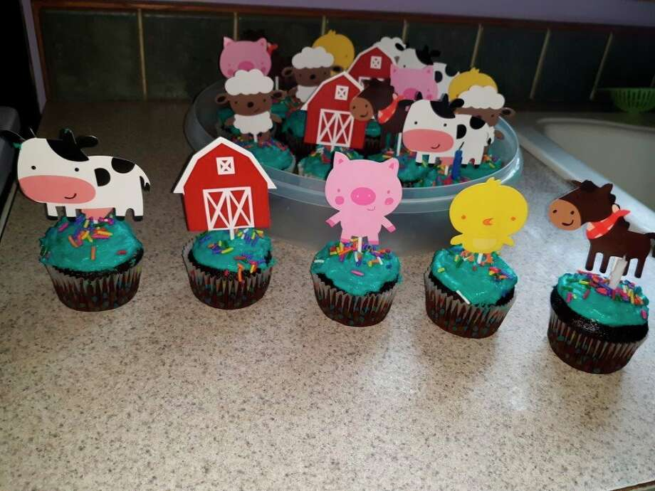 The whole family enjoyed these whimsical cupcakes as they gathered to celebrate T.J.'s and Allison's recent birthdays. (Courtesy photo)