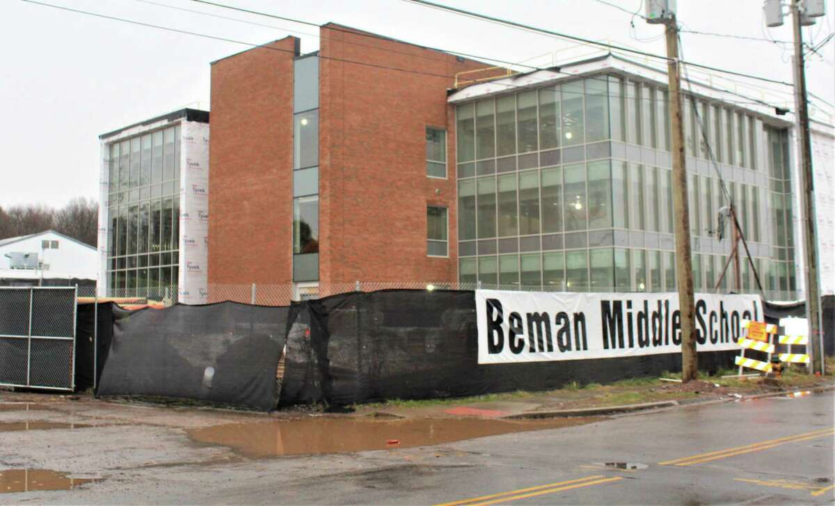 The new Beman Middle School on Wilderman's Way in Middletown