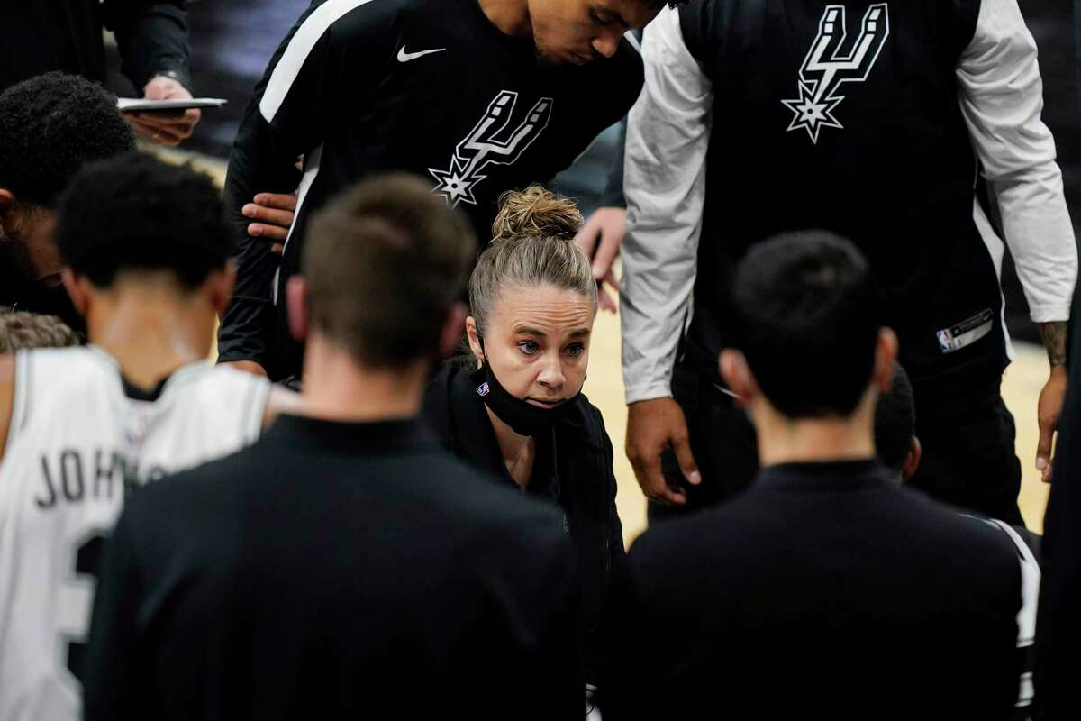 Spurs assistant coach Becky Hammon closed out 2020 by being cemented in sports history for being the first woman to lead an NBA team.