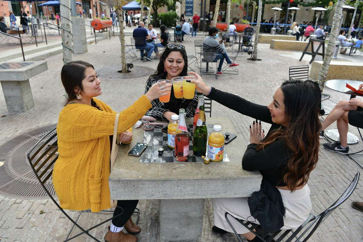 The Bottling Department at the Pearl is now offering outdoor tableside ordering in an effort to help keep customers and businesses safe during the coronavirus pandemic.
