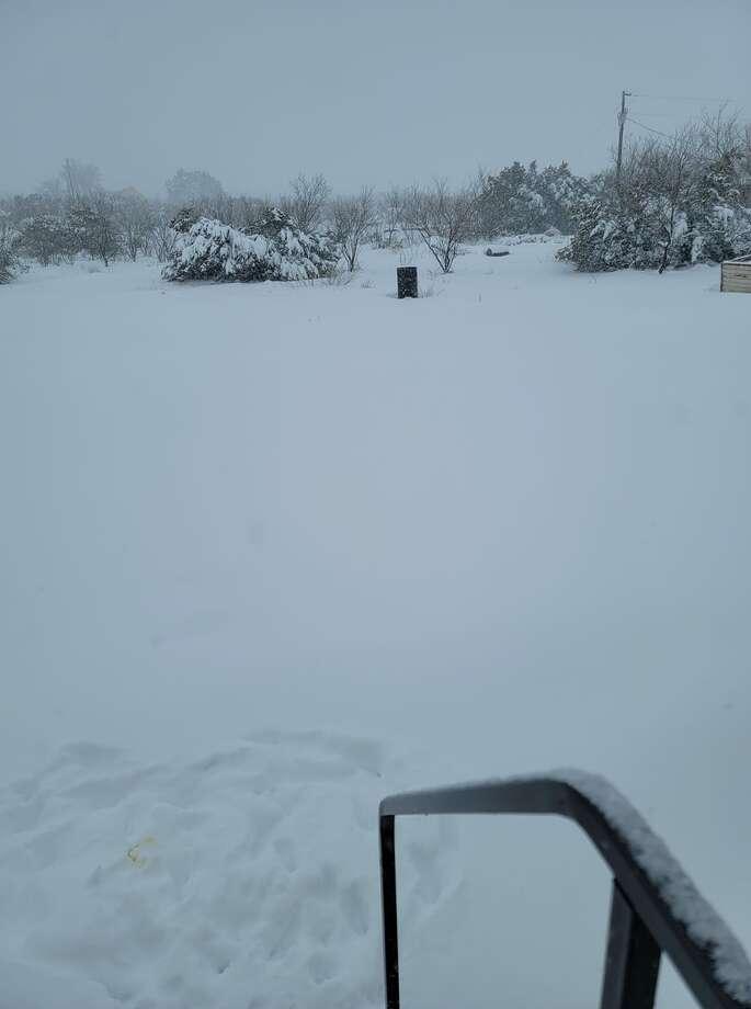 South of Big Spring Wednesday, December 31, 2020. Photo: Melissa Posey
