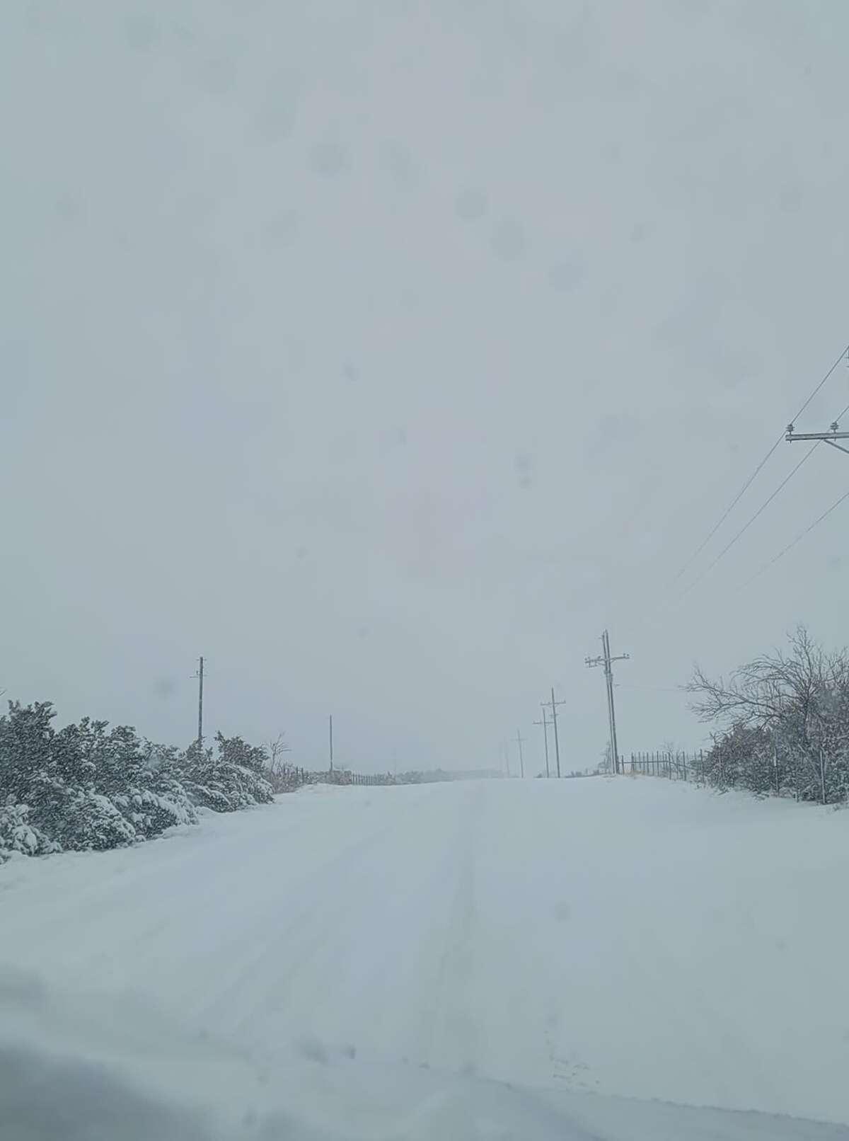 South of Big Spring Wednesday, December 31, 2020.