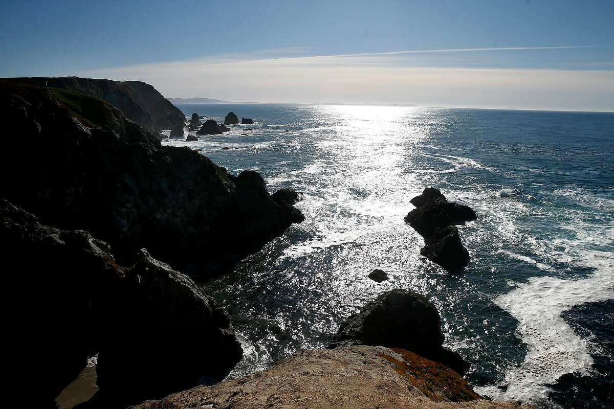 A car carrying two women fell off a cliff in the Bodega Bay area, killing both of them. The picture shows the south-facing view of Bodega Head, a rocky promontory that forms the entrance to Bodega Harbour.