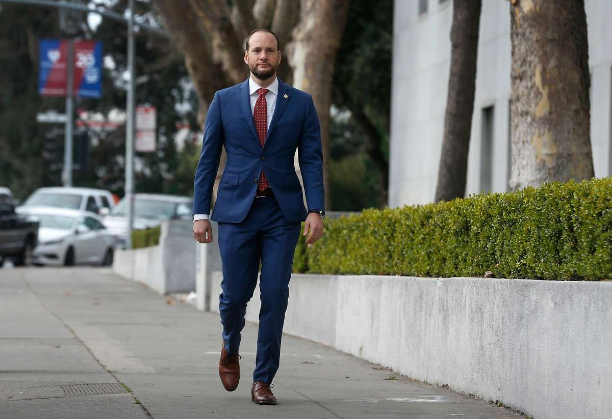 """San Francisco District Attorney Chesa Boudin says: """"It's unacceptable that we have so many cases that are so old, especially cases that are so serious."""""""