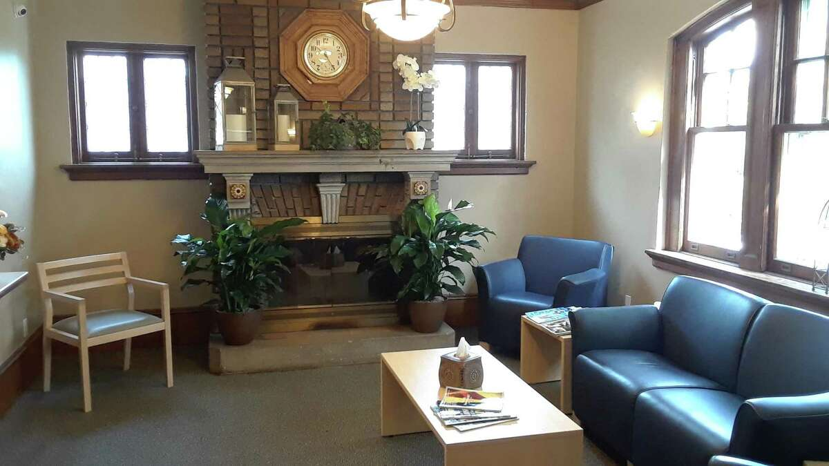 The McCall Center for Behavioral Health's waiting room on High Street.