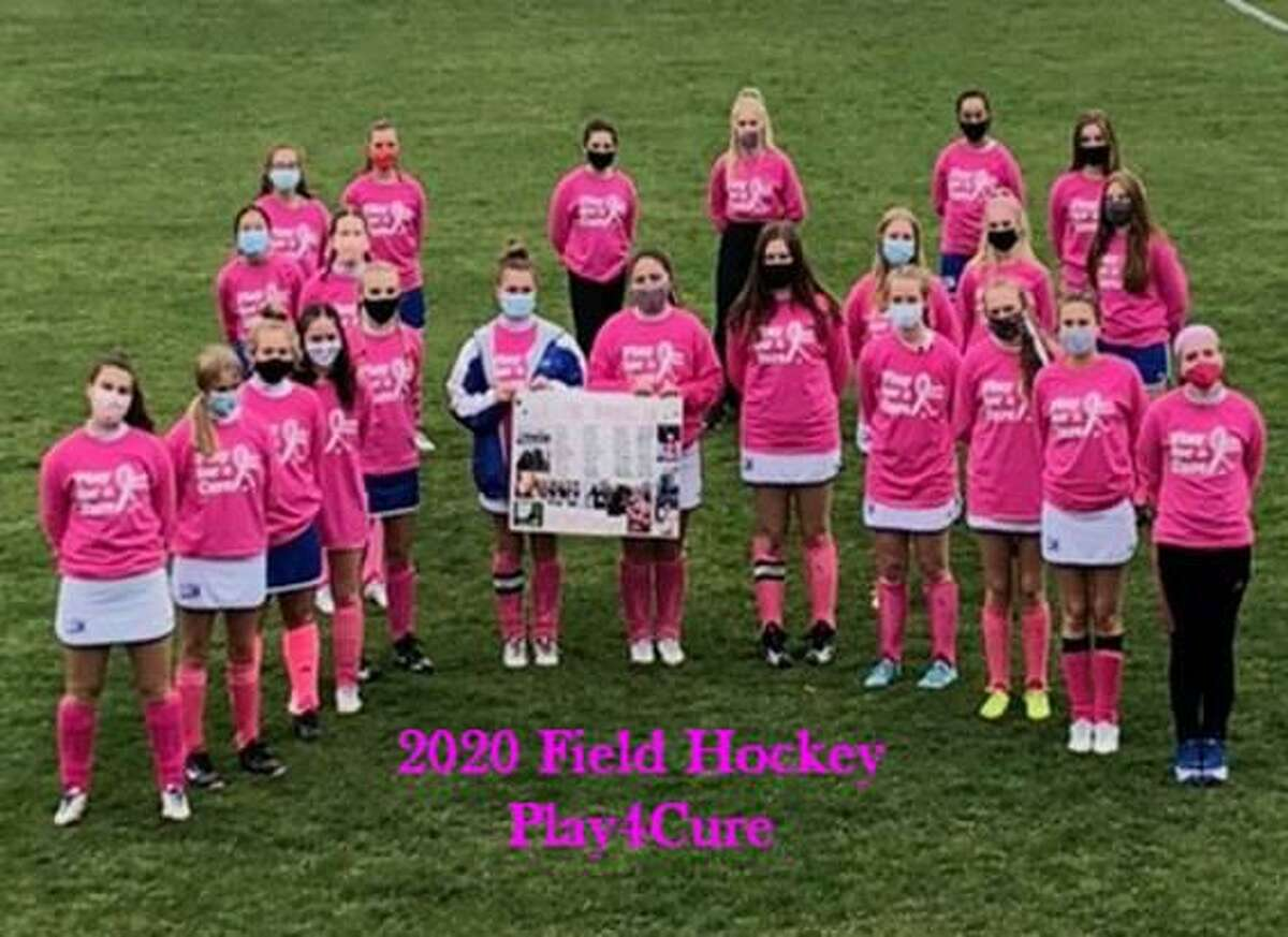 The Lewis S. Mills High School Field Hockey Team continued its support for the National Foundation for Cancer Research this season. In October, they held their annual Play4Cure game. The pandemic didn't stop the athletes from supporting breast cancer research.