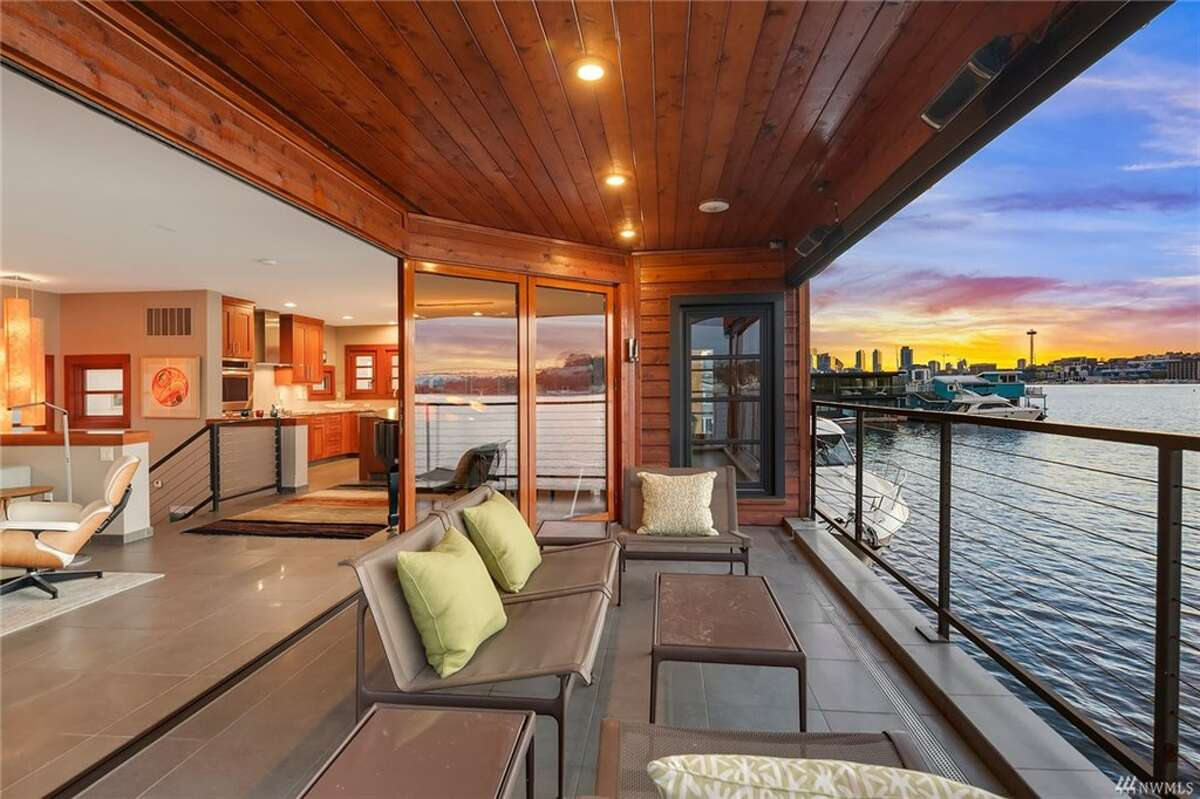 2369 Fairview Ave. E. #1 features decks on each level and a retracting living room wall that lets the lake become part of the home.