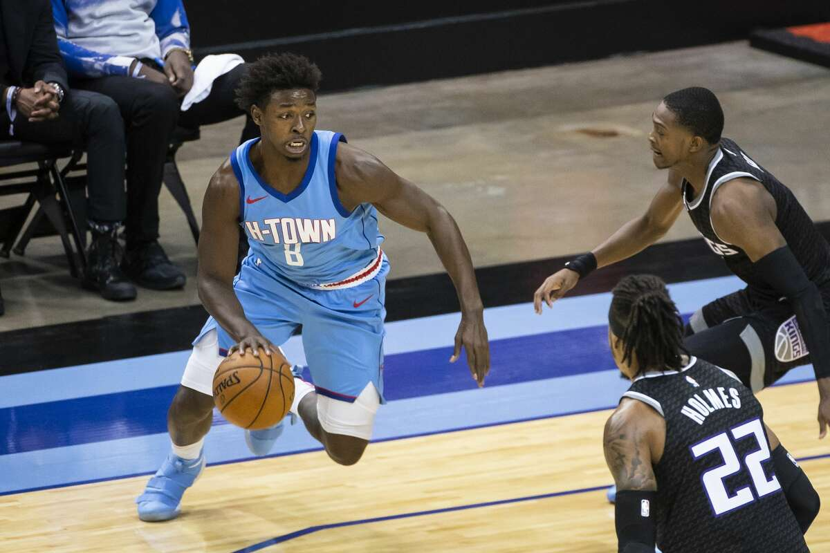 Rockets rookie forward Jae'Sean Tate said it was beneficial to the team's younger players to get some long-awaited practice time this week.