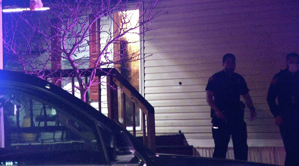 One man has died and five others are injured after a shootout over a cell phone at a Southeast Side trailer park, police said.