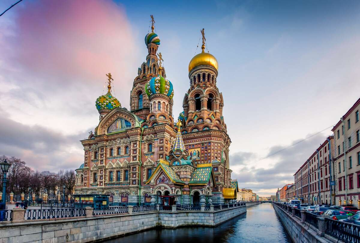 The Church of the Savior on Spilled Blood (Russian: , Tserkov Spasa na Krovi) is one of the main sights of St. Petersburg, Russia.