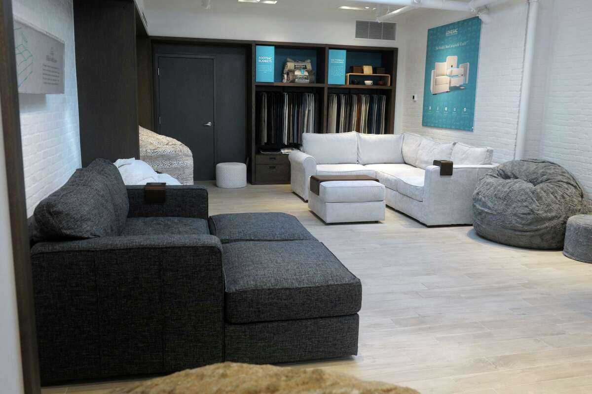 Lovesac has a store at 68 Post Road E., in downtown Westport, Conn.