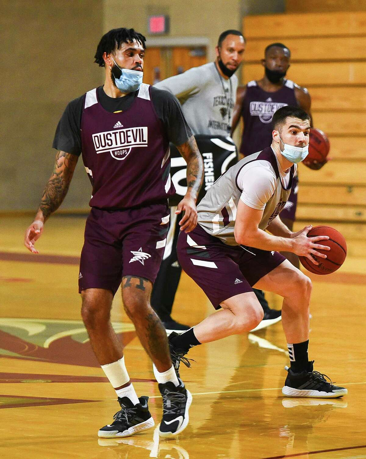 The Texas A&M International men's basketball team returns to the court Saturday as they host Texas A&M-Kingsville.