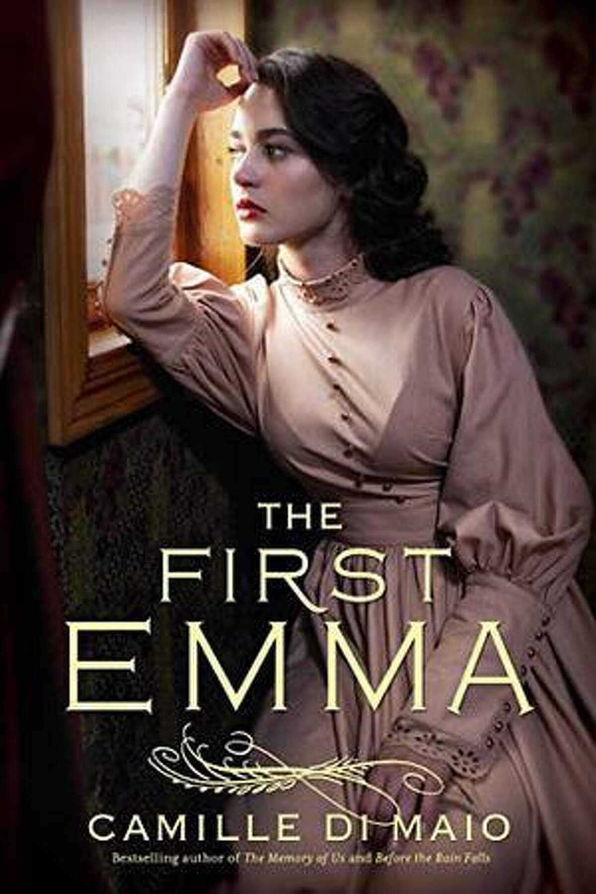 """This is the cover of """"The First Emma"""" by Camille di Maio, a novel based on the real-life Pearl Brewing magnate Otto Koehler. It's told from the point of view of his widow."""
