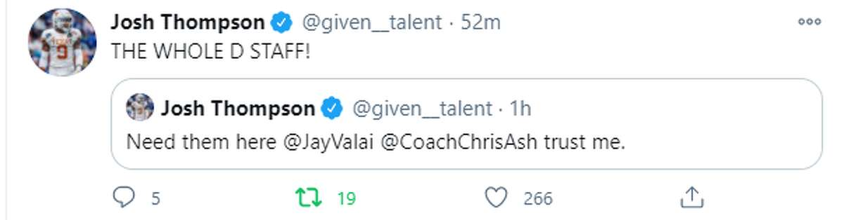 Texas Longhorns players from the past and present react to the school's firing of coach Tom Herman following the completion of his fourth season.