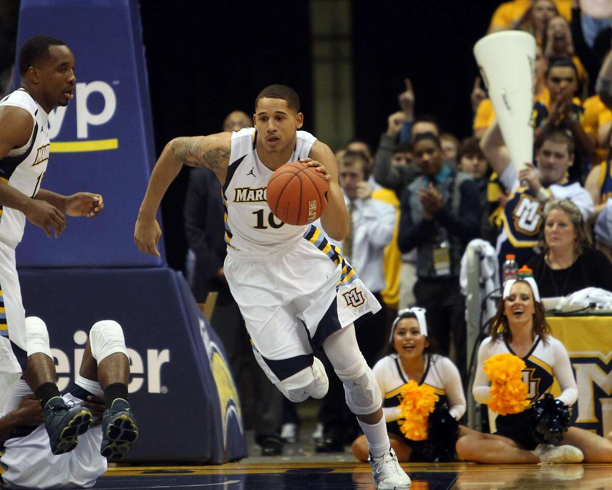 Juan Toscano-Anderson averaged 3.8 points per game in four years at Marquette, but now he's firmly in the Warriors' rotation.