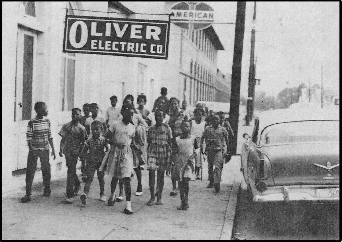 A picture from the 1960's from Julie Kabat's book, Love Letter From Pig: My Brother's Story of Freedom Summer.