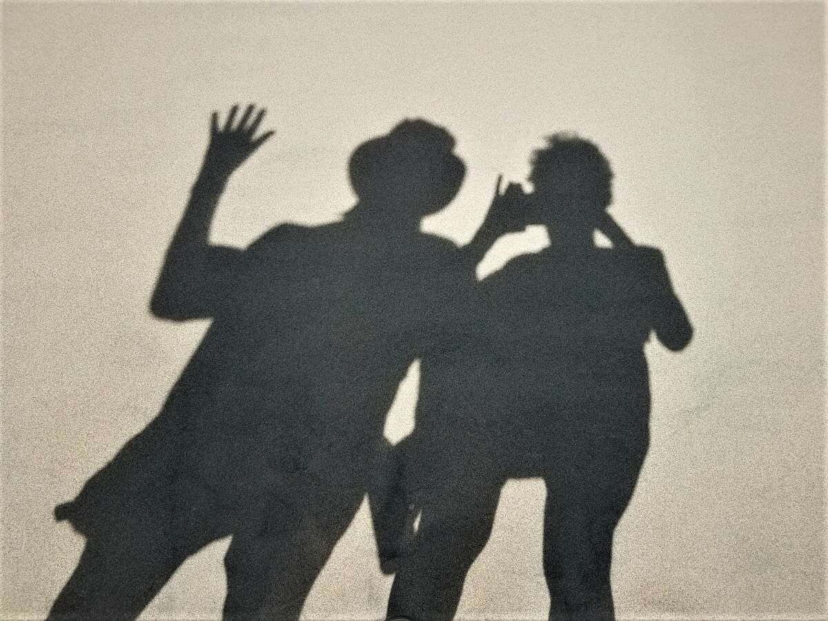 Paul & Lynne ShatsoffGreat Sand Dunes National Park & Preserve in Southern ColoradoWe were walking in the Dunes of this magnificent place and Lynne took this photo of our shadows...sort of a different iteration of a selfie :} June 2019