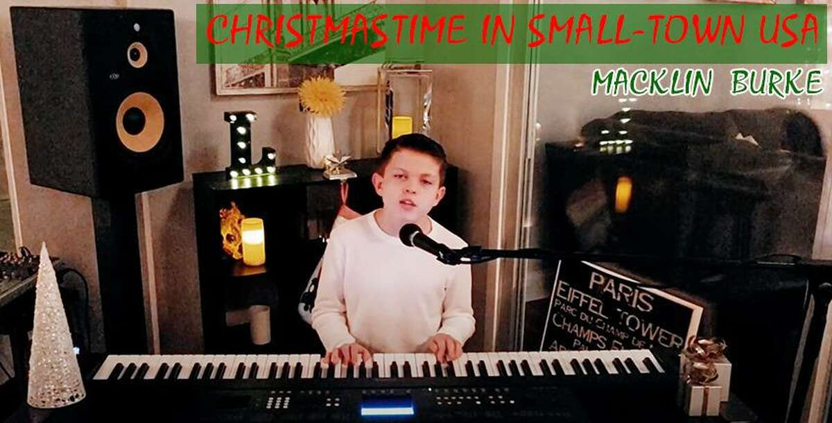 Macklin Burke of Ridgefield, recently picked up a piano around his house, and has a holiday classic with over 3,700 organic views on YouTube, and close to 500 views per day.