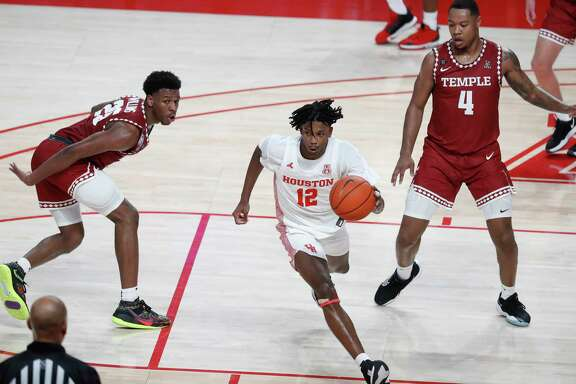 University of Houston guard Tramon Mark is one of several Cougars working their way back into shape.