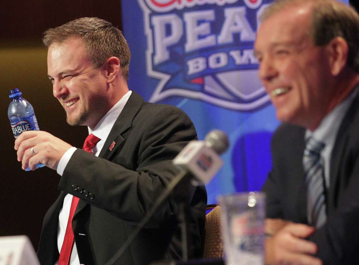 Tom Herman's stock rose after beating Jimbo Fisher in the Peach Bowl to end 2015. Herman eventually went to Texas while the Aggies waited a year and landed Fisher.
