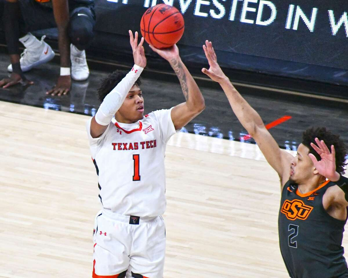 Texas Tech suffered an 82-77 loss to Oklahoma State in a Big 12 men's college basketball game on Saturday in the United Supermarkets Arena at Lubbock.