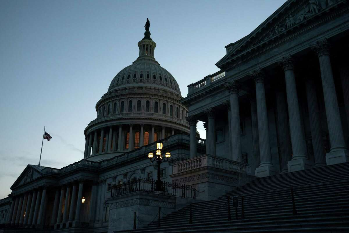 The Capitol in Washington on Thursday, Dec. 10, 2020. Congress has a normally perfunctory final say in the election that threatens to become a messy last stand this year. (Anna Moneymaker/The New York Times)