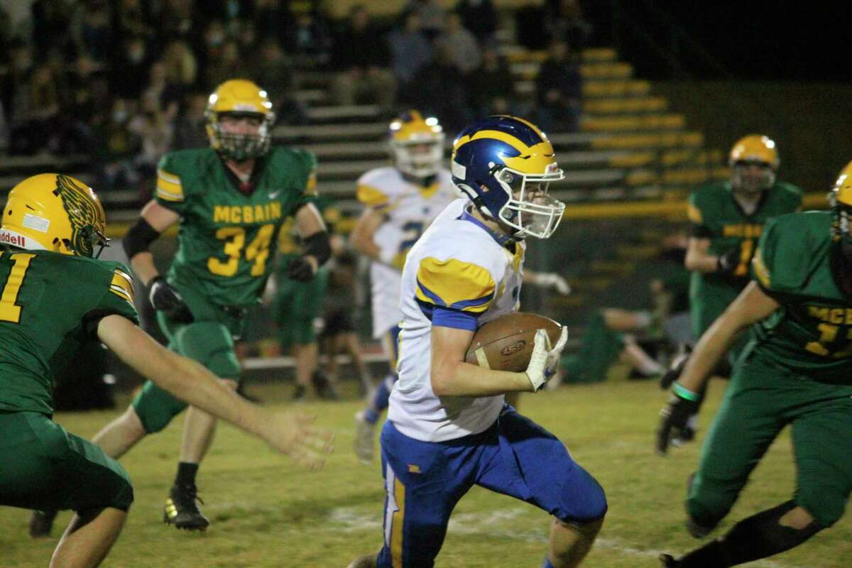 Danny Witbeck was the Highland Conference football player of the year. (Pioneer file photo)
