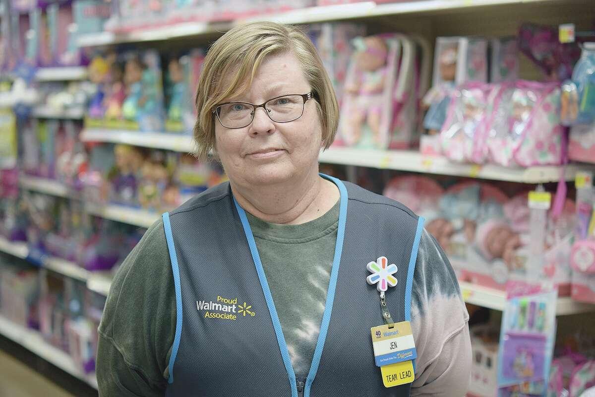 Jennifer Furlong is a 40-year employee of the Jacksonville Walmart.