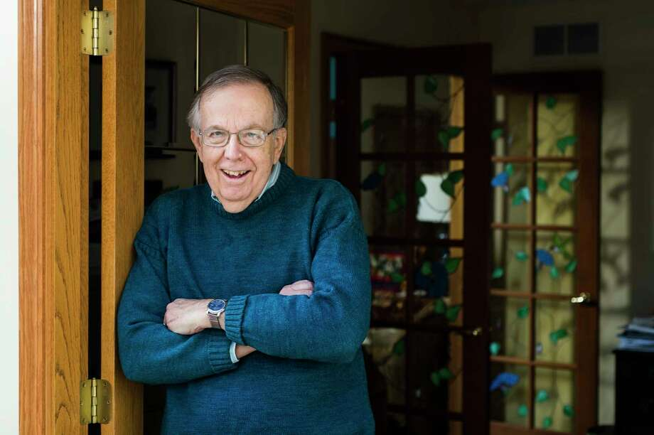 Doug Ward of Midland poses for a portrait Tuesday at his home. Ward, 78, is a member of the silent generation, and shared his thoughts on the significance of Joe Biden becoming the first member of the generation to be elected president. (Katy Kildee/kkildee@mdn.net)